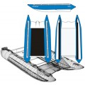Надувной катамаран Badger FC 410 Blue&White