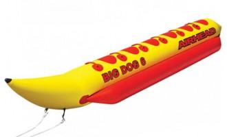 """Надувной """"банан"""" AIRHEAD BIG DOGS - купить в Таганроге"""