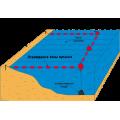 Ограждение зоны купания 20 поплавков/25м