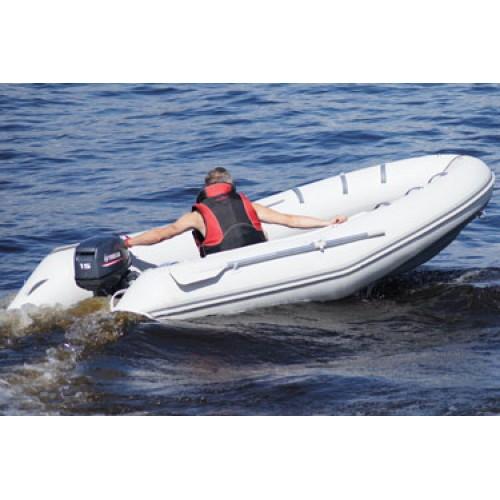 лодка с надувным дном badger air line