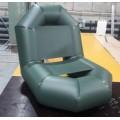 Кресло надувное Роджер зеленое, серое.